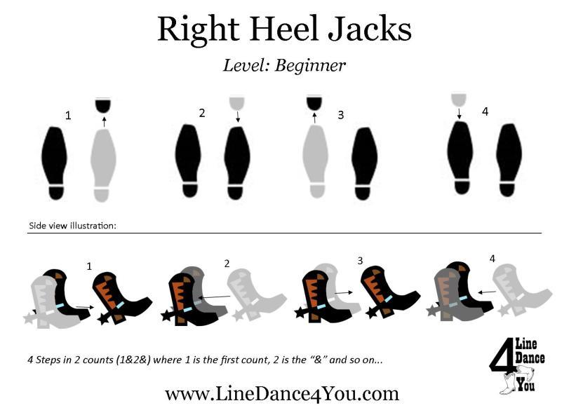 Right Heel Jacks