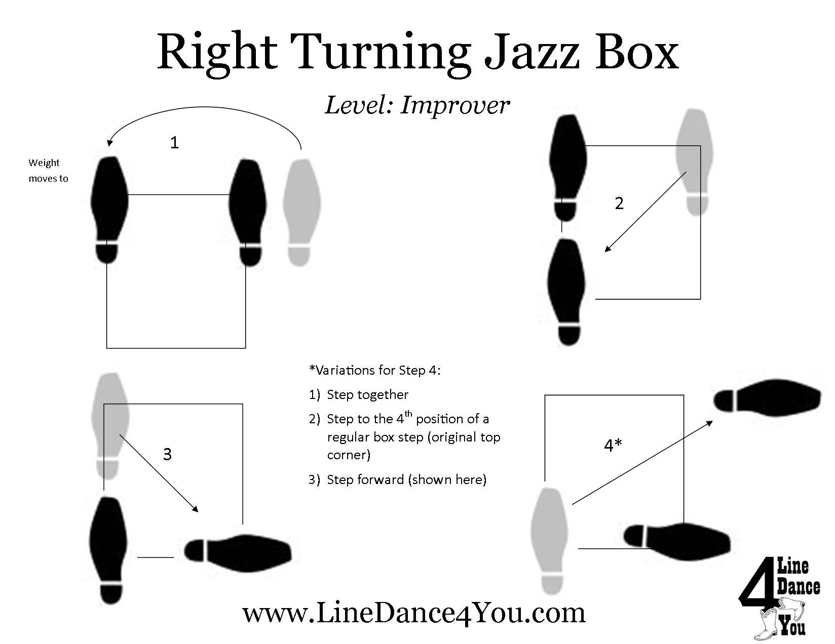 Step of the Week: Turning Jazz Box (or Turning Box Step ...