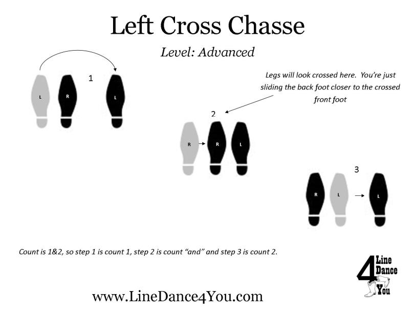 Left Cross Chasse